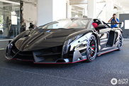 One of the nine Lamborghini Veneno Roadsters can be found in Germany