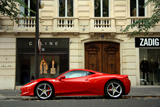 Wallpapers: Ferrari 458 Italia in Parijs