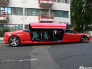 Rollercoaster on the streets: Ferrari 360 Modena Limousine