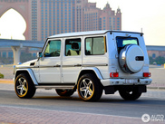 Mercedes-Benz G 55 spotted in its natural habitat