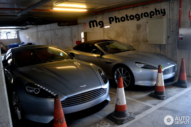 Spotted: new Aston Martin DB9 without camouflage!