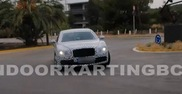 Still waiting for the details: Bentley Continental Flying Spur 2014
