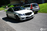Energetic like cocaine: Mercedes-Benz E B63S Biturbo