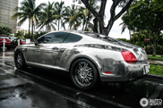 Suited for Miami: Chrome Bentley Continental GT