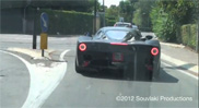Movie: Ferrari F70 in the streets of Maranello