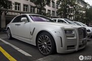 Mission accomplished: third Mansory White Ghost Limited spotted!
