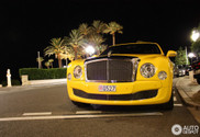 Who could ever imagined this: yellow Bentley Mulsanne 2009