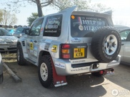 Ultimate offroad race car spotted: the Mitsubishi Pajero Evolution Ralliart