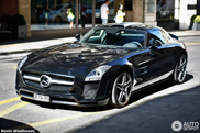Almost perfect: Mercedes SLS AMG tuned by FAB Design