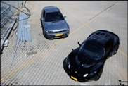 Fotoshoot: BMW E46 M3 CLS, Lotus Elise S2 111S en een BMW Z1