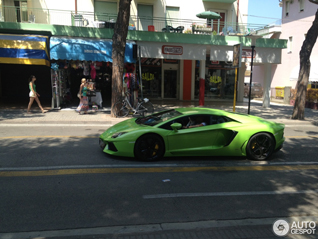 Second Verde Ithaca Lamborghini Aventador LP700-4 is now spotted!