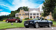 WildSpeed draws the Rolls-Royce Ghost Coup and Bentley Mulsanne Convertible