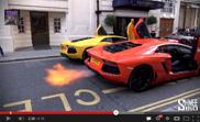 Filmpje: Lamborghini's in vuurgevecht!
