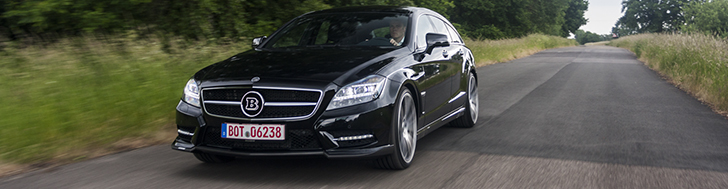 Driven: Brabus CLS Shooting Brake B50