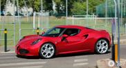 Avvistate le prime Alfa Romeo 4C!