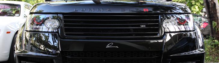 Pastebetas Range Rover! The CLR R by Lumma Dizaino!