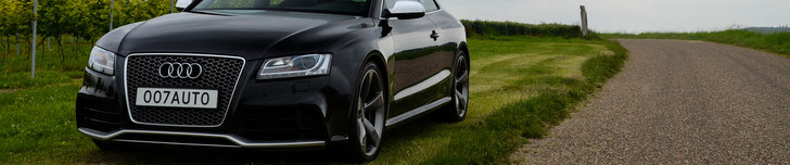 Photoshoot: Audi RS5