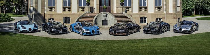 Bugatti says goodbye to the Les Légendes series at Pebble Beach