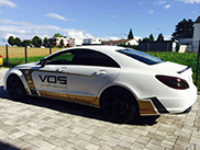 VOS Performance makes an extremely powerful CLS 63 AMG