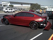 Ongelukken met dure auto's dagelijkse kost in Johannesburg