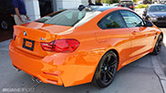Eerste BMW M4 Coupé in Fire Orange gemaakt