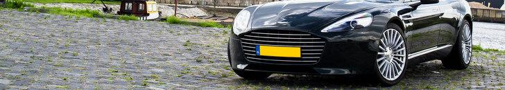 Fotoshoot: Aston Martin Rapide S in prachtig groen