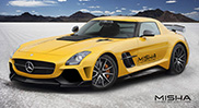 Misha Design neemt Mercedes-Benz SLS AMG onder handen