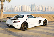 Royal Customs gives the SLS AMG a Black Series look