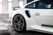 TechART makes the Porsche 991 Turbo more powerful than the Turbo S
