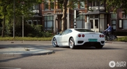 Strange sighting: white Ferrari 360 Modena