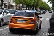 Hot or not? Orange Mercedes-Benz C 63 AMG spotted in Paris