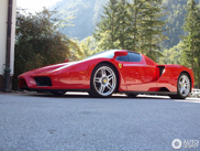 Ferrari Enzo Ferrari spotted in a beautiful location in Slovenia