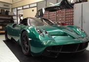 First green Huayra for Asian customer