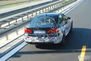 BMW M3 F80 al testend vastgelegd
