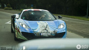 McLaren MP4-12C spotted in its Challenge livery