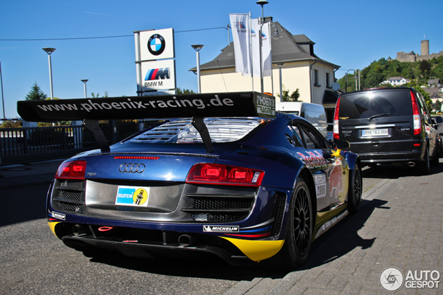 Only at the Nürburgring: Audi R8 GT3 LMS on the streets