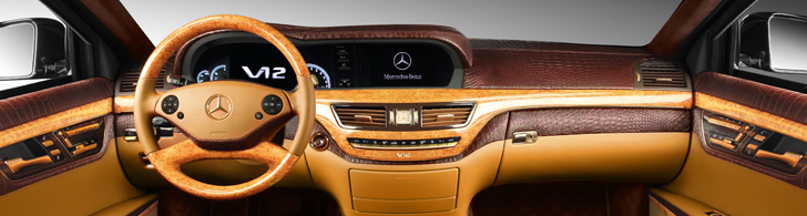 You can&#039;t buy taste: TopCar makes the interior of a Mercedes-Benz S600 Guard a piece of art