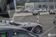 Unexpected: Mercedes-Benz SLR McLaren Stirling Moss in Zagreb