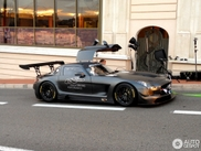 What the...? Mercedes-Benz SLS AMG GT3 on the streets of Monaco