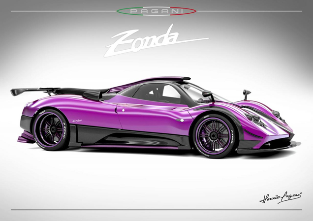Pagani ceases to build its historical Zonda