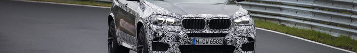 BMW X5 M is making its laps on the Nürburgring