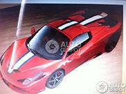 Ferrari 458 Speciale Spider kost ruim drie ton