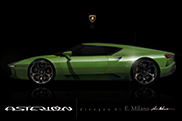 E.Milano visualizes the Lamborghini Asterion