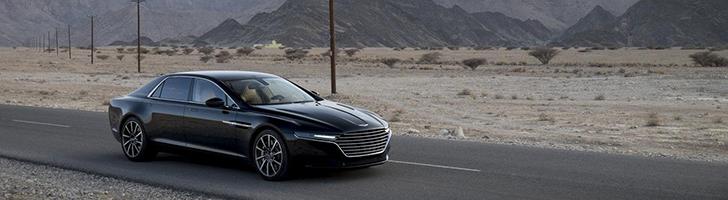 Aston Martin laat meer foto's van de Lagonda zien