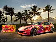 Ferrari Fort Lauderdale builds an artistic Ferrari