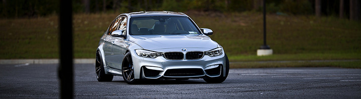 Beautiful photos of a BMW M3 Sedan