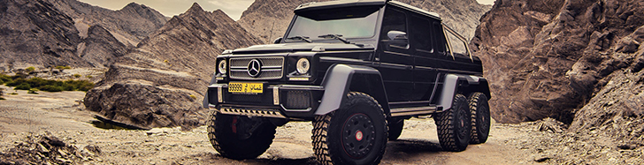 Owner heads into the desert with his Mercedes-Benz G 63 6x6