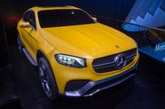 IAA 2015: Mercedes-Benz GLC Coupé Concept
