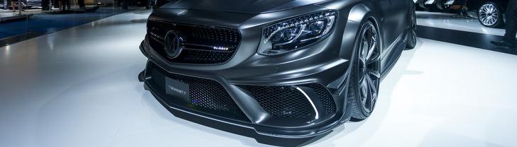 Mansory schopt de S Coupe Black Edition de beurs op