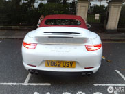 SportDesign Package fits the Porsche 991 Carrera S Cabriolet very good!